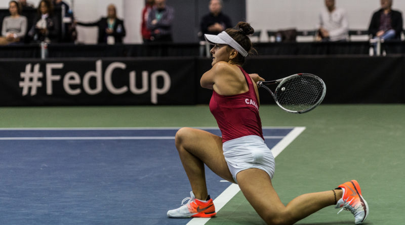 Bianca Andreescu at the Fedup - photo: Kieron Yates