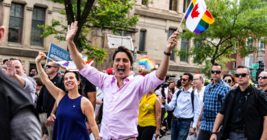 Prime Minister Trudeau at Pride in Montreal