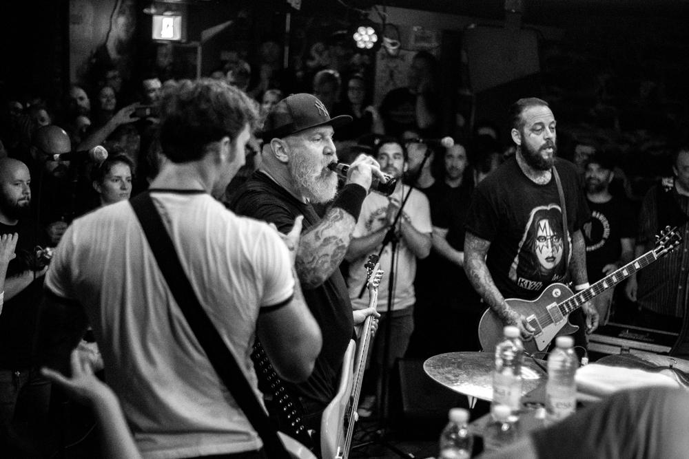 "CJ Ramone rocks L""Esco in Montreal - photo by Kieron Yates"