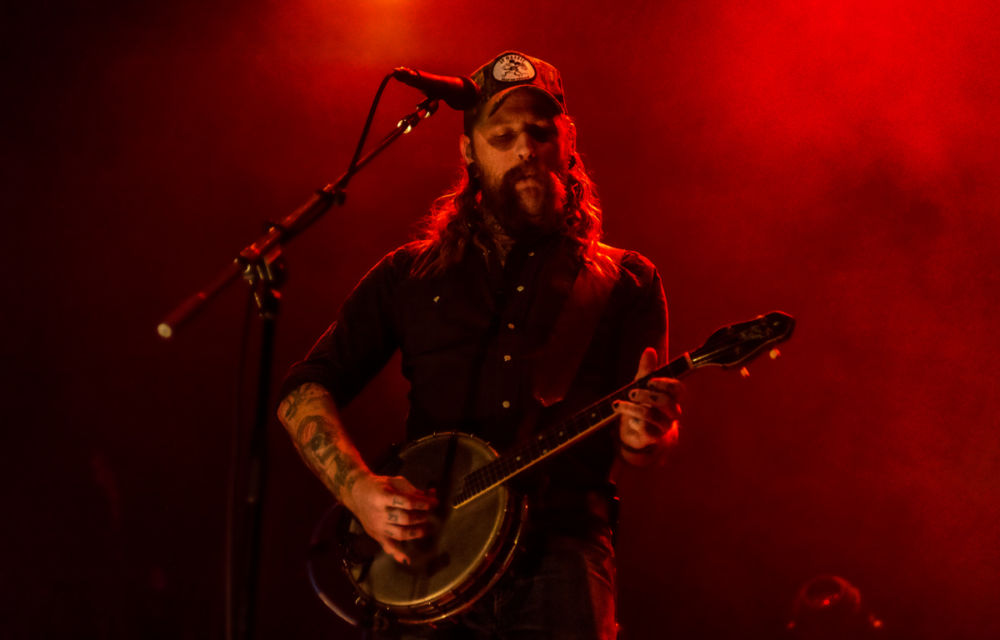 Cooper McBean performs with The Devil Makes Three at Montreal's Corona theatre.