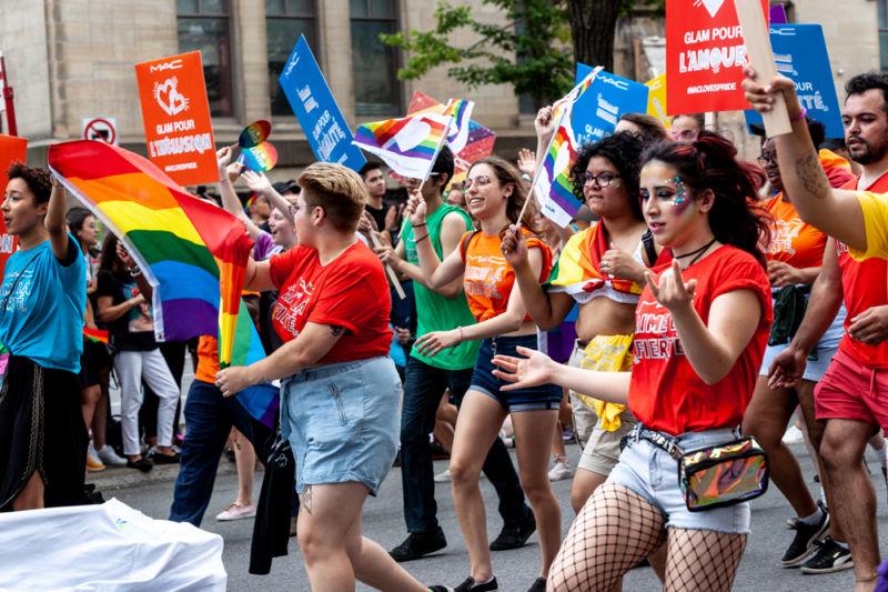 Montreal Pride parade 2019 - Photo by Samantha Morris