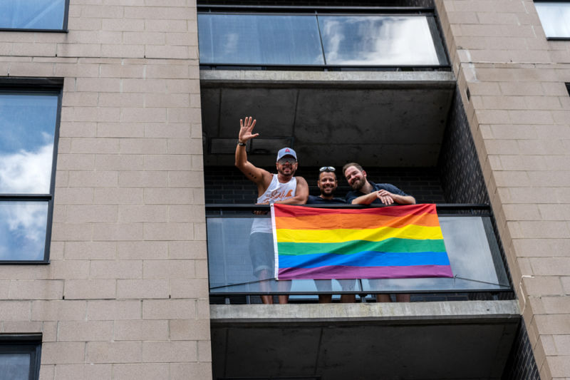 Montreal Pride parade 2019 - Photo by Kieron Yates