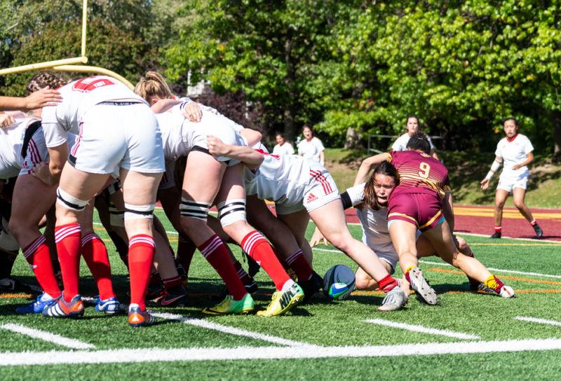 Concordia Stingers versus McGill Martlets - photo: Kieron Yates